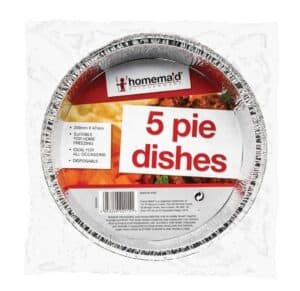 Home Maid 5pk Round Foil Casserole Dishes