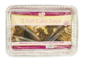 Home Maid 2pk Foil Cake Tray