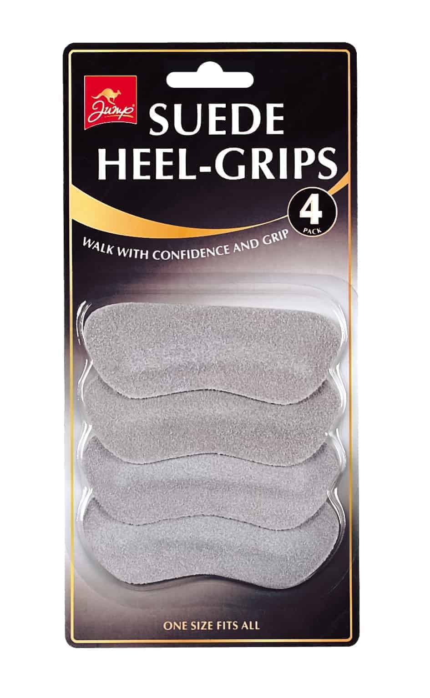 Jump 4 Pack Suede Heel Grips