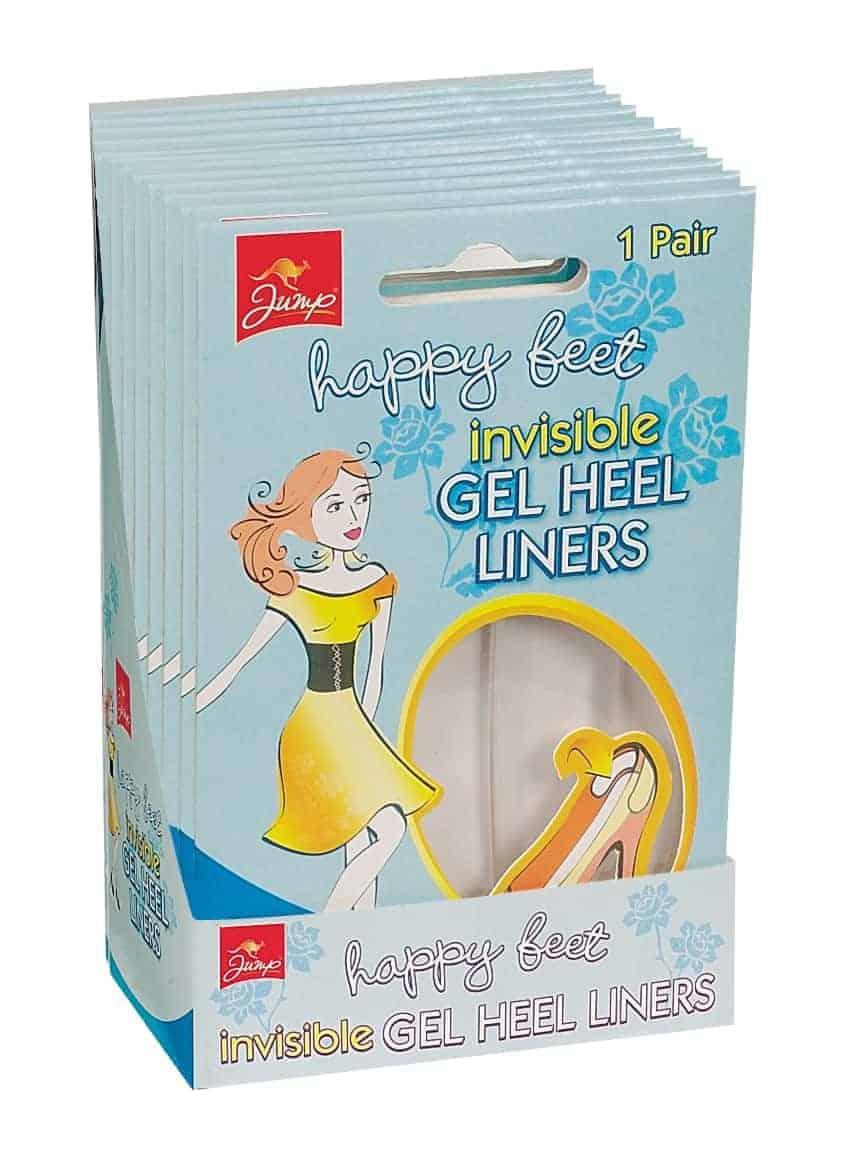 Jump Gel Heel Liners (2X12 Per Case)