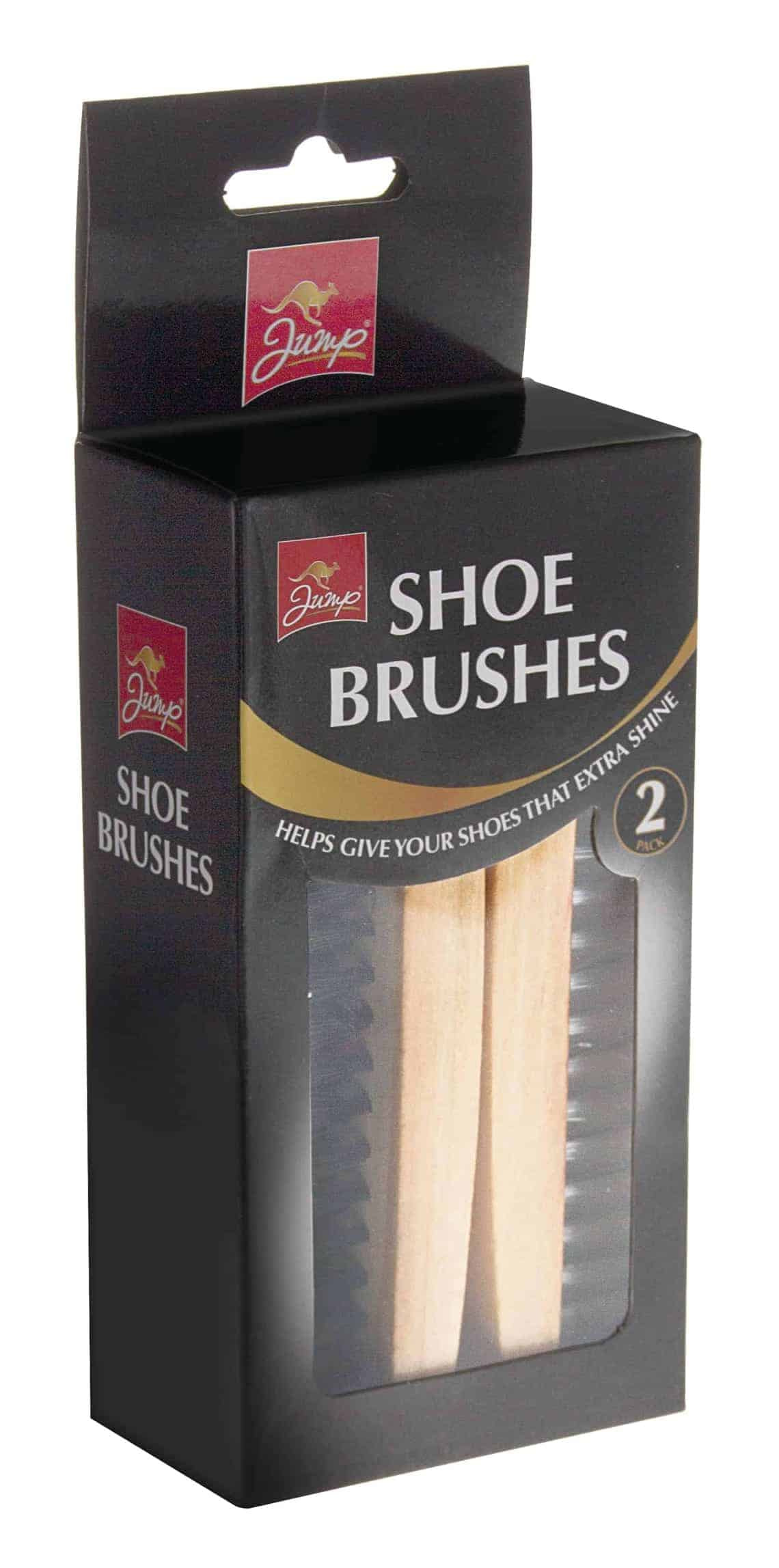 Jump 2 Pack Shoe Brush