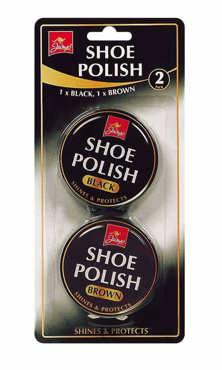 Jump 2 Pack Black and Brown Shoe Polish