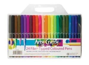 Arty Crafty 24pk Felt Tips
