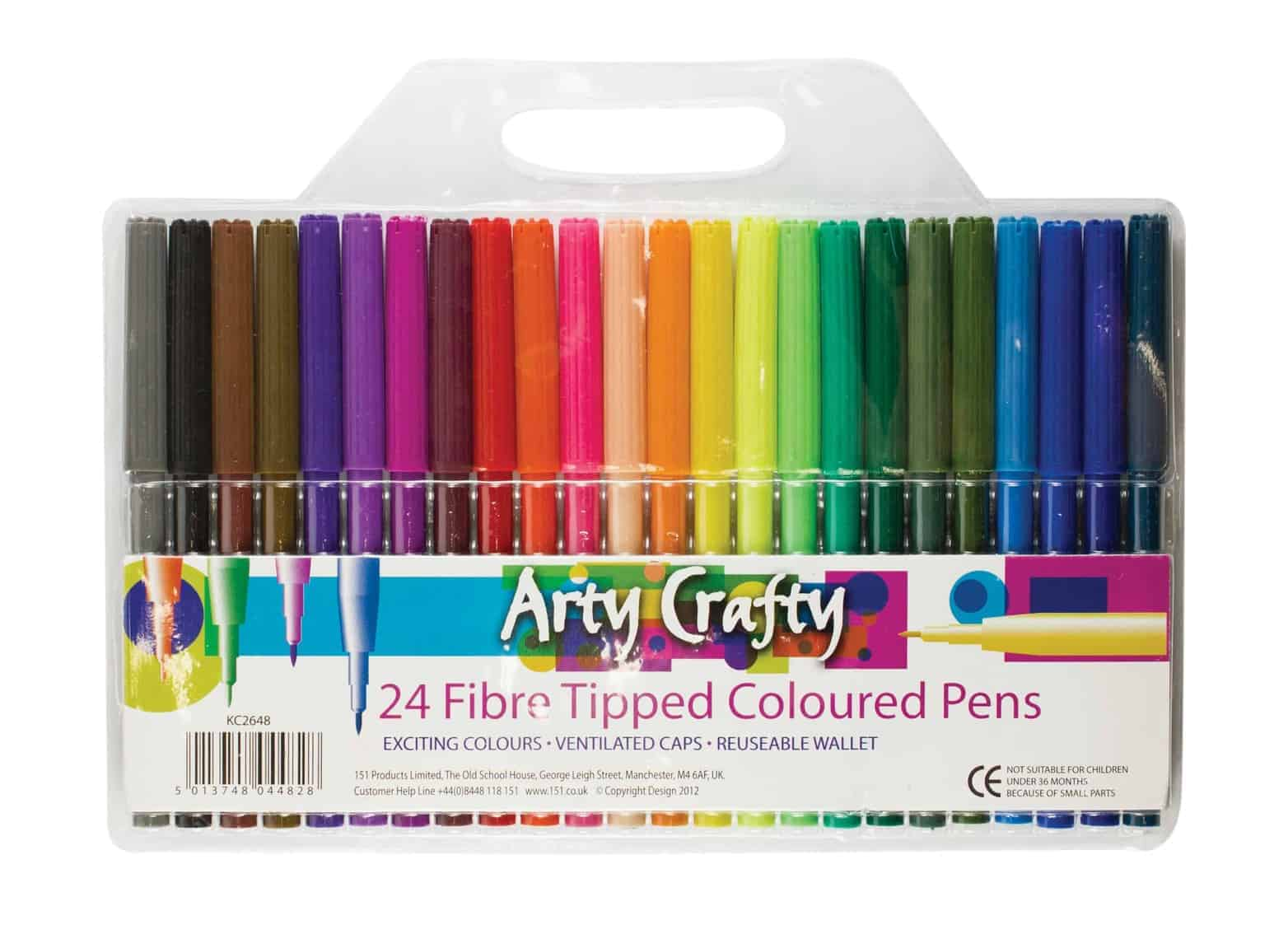 Arty Crafty 24pk Felt Tips