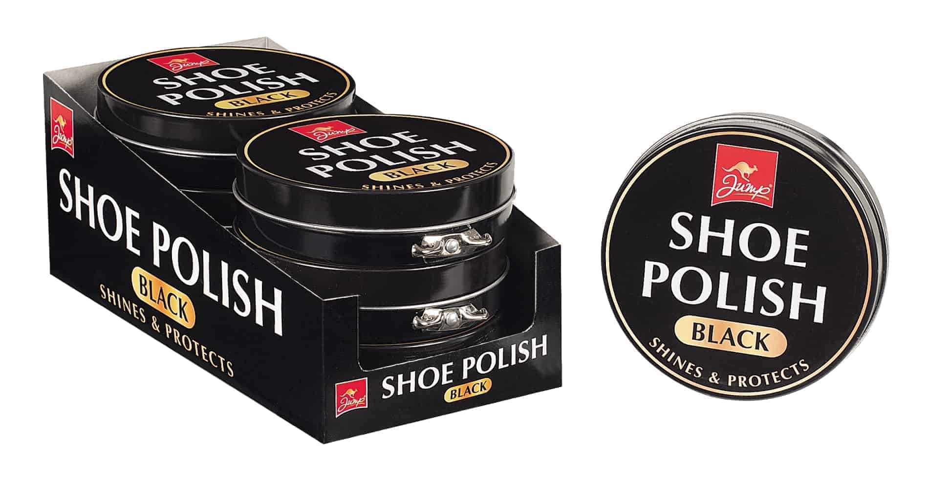 Jump Shoe Polish - Black