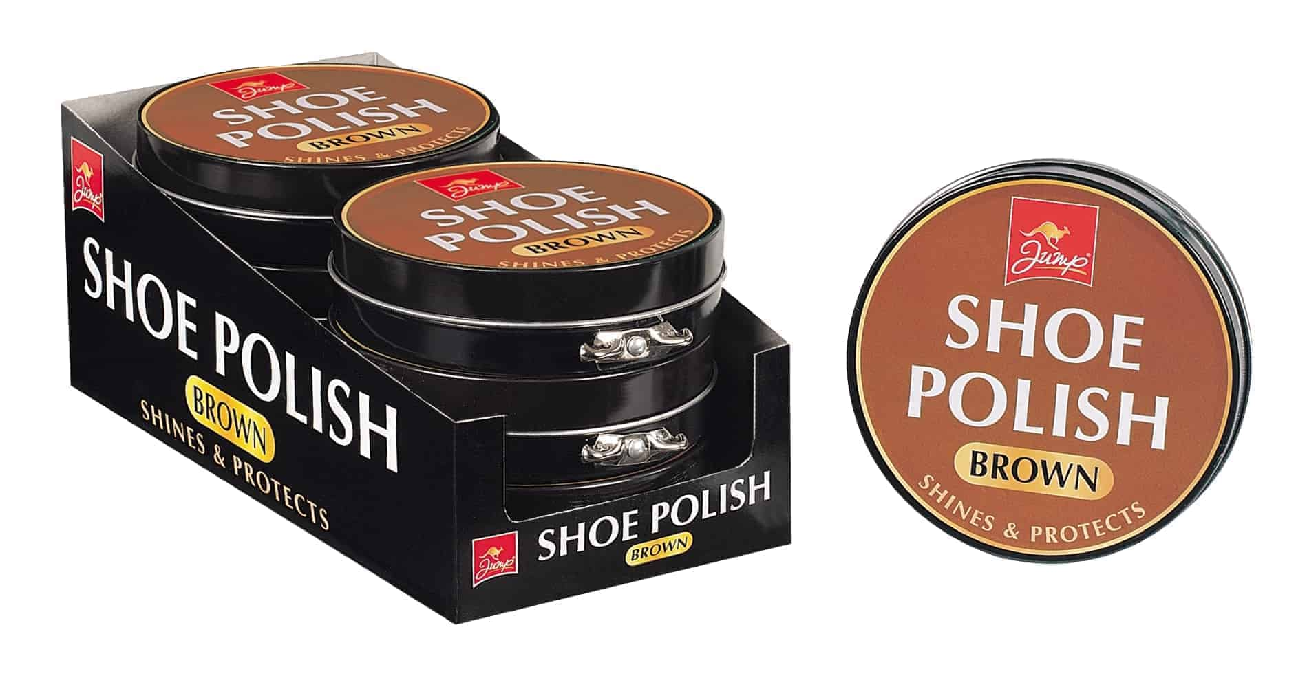 Jump Brown Shoe Polish