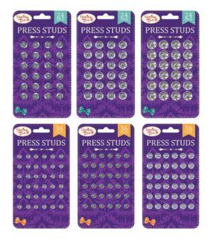 Sewing Box  Press Studs