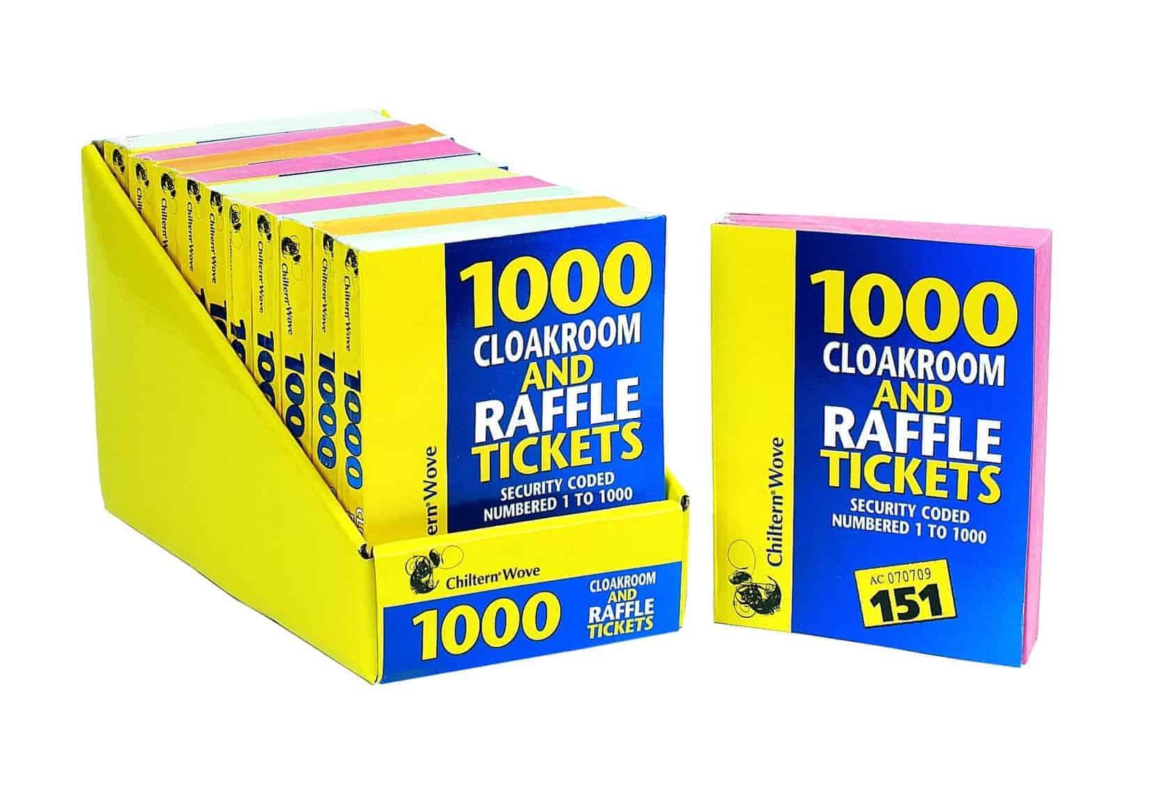 Chiltern Wove 1000 Raffle Tickets