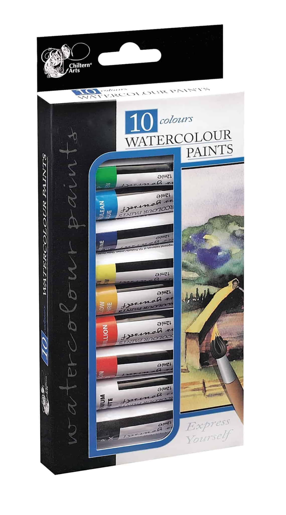 Chiltern Arts Water Colour Paints