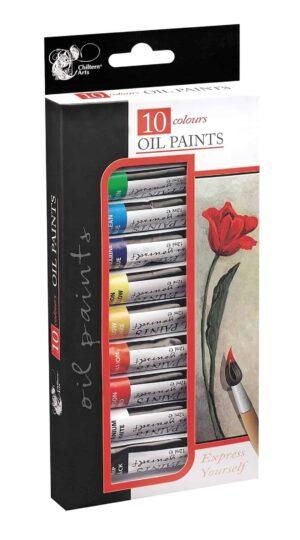 Chiltern Arts 10pk Oil Paints