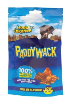 Munch Crunch Paddywack Beef Dog Treat