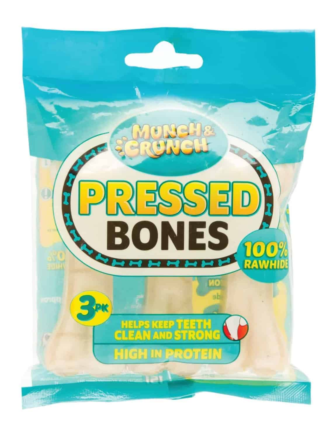 Munch Crunch Pressed Bones-3Pk
