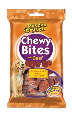 Munch & Crunch Beef Chewy Bites