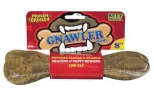 """Munch Crunch 8"""" Beef Gnawler Bone"""