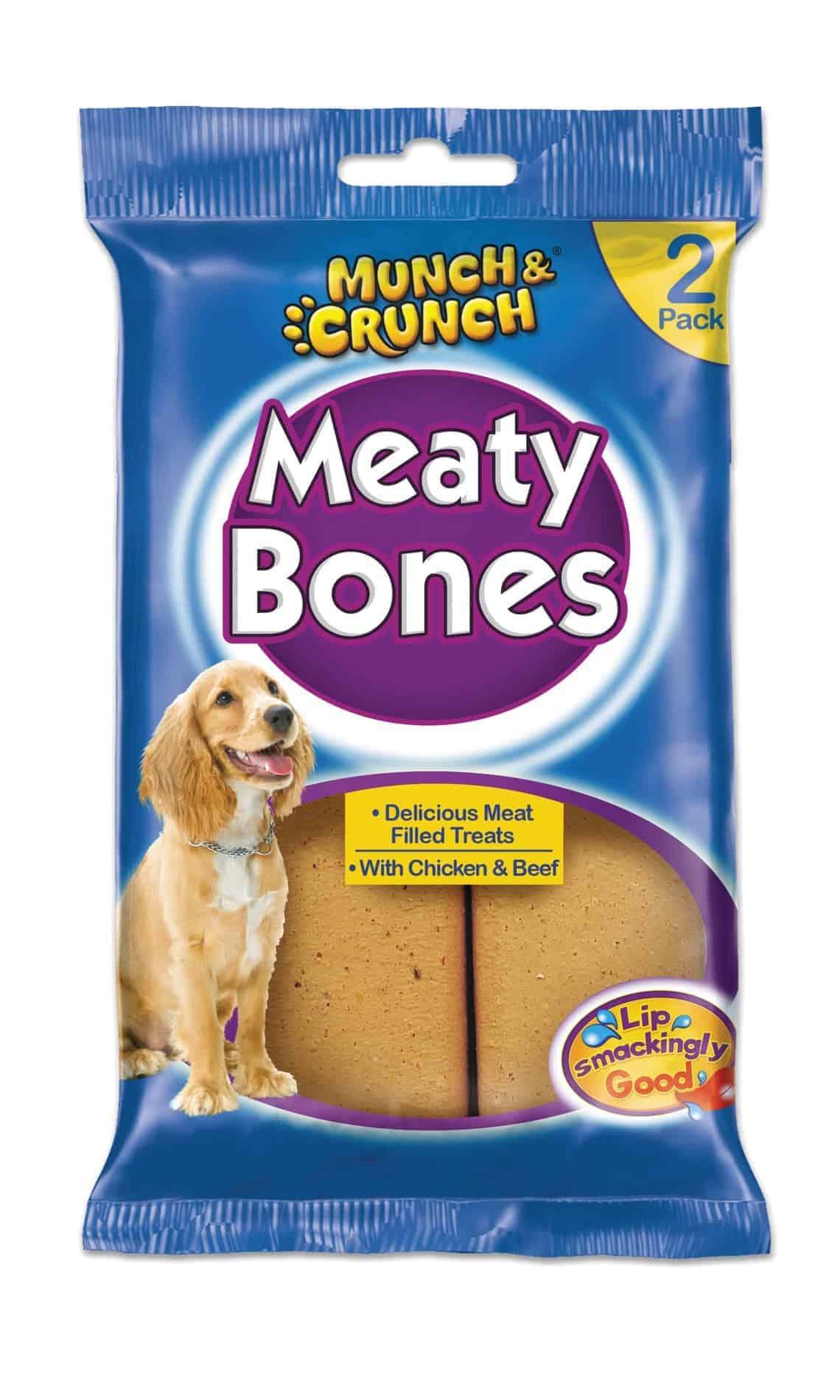 Munch Crunch 2PK Meaty Bones