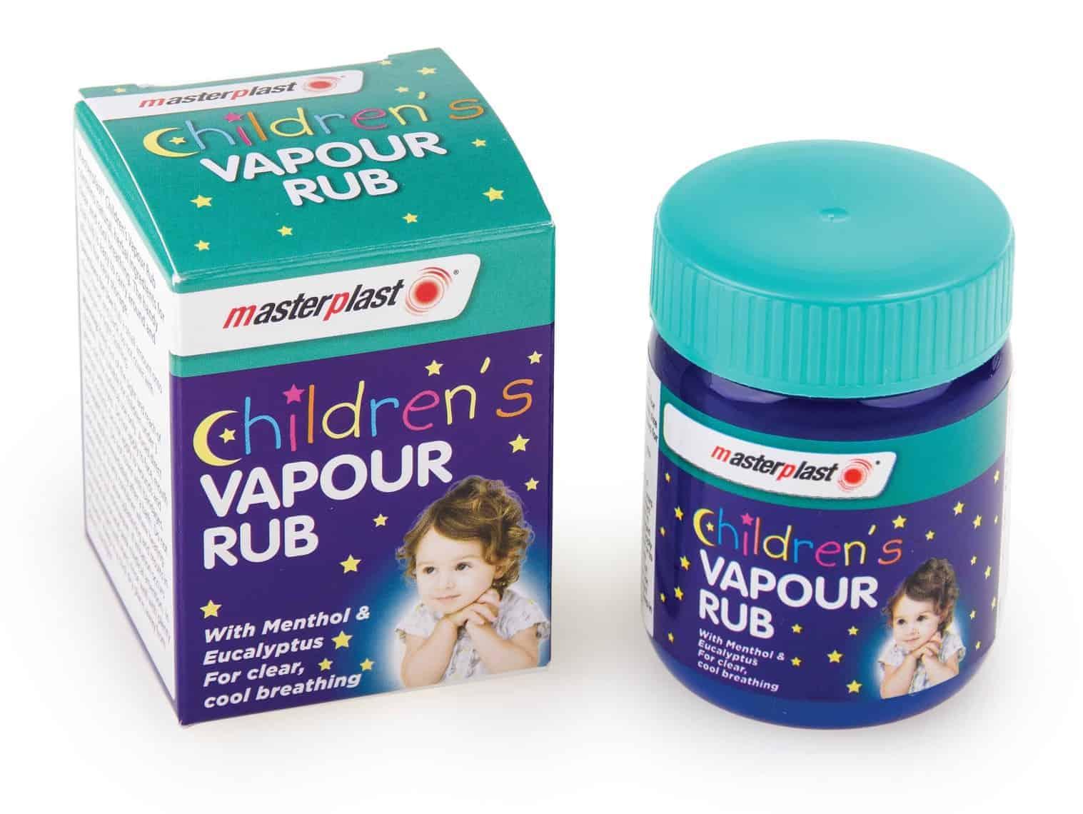 Master Plast Childrens Vapour Rub 50G