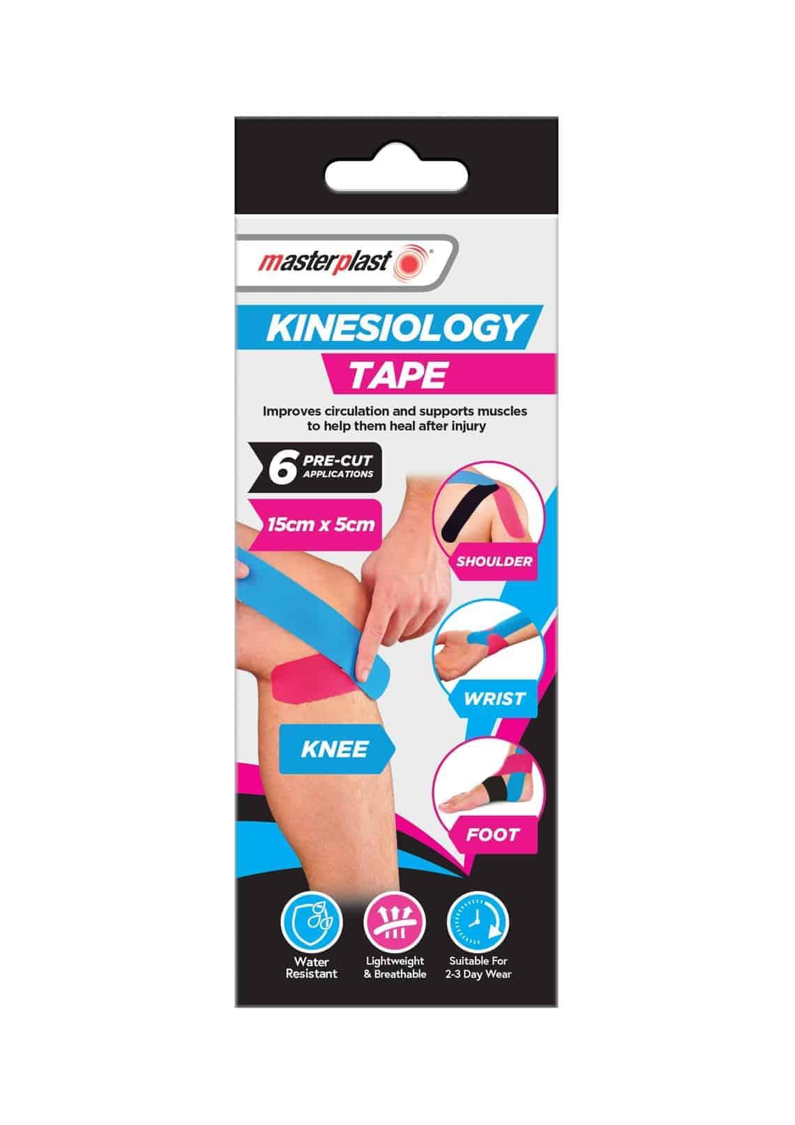 Master Plast Kinesiology Tape 6Pcs