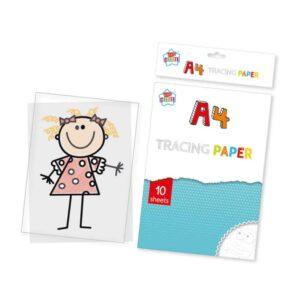 10 Sheets A4 Tracing Paper