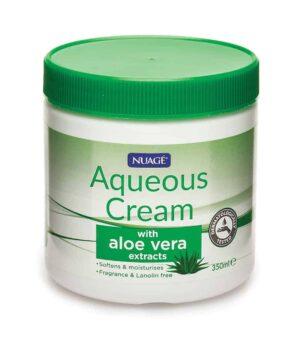 350Ml Aqueous Cream-Aloe Vera