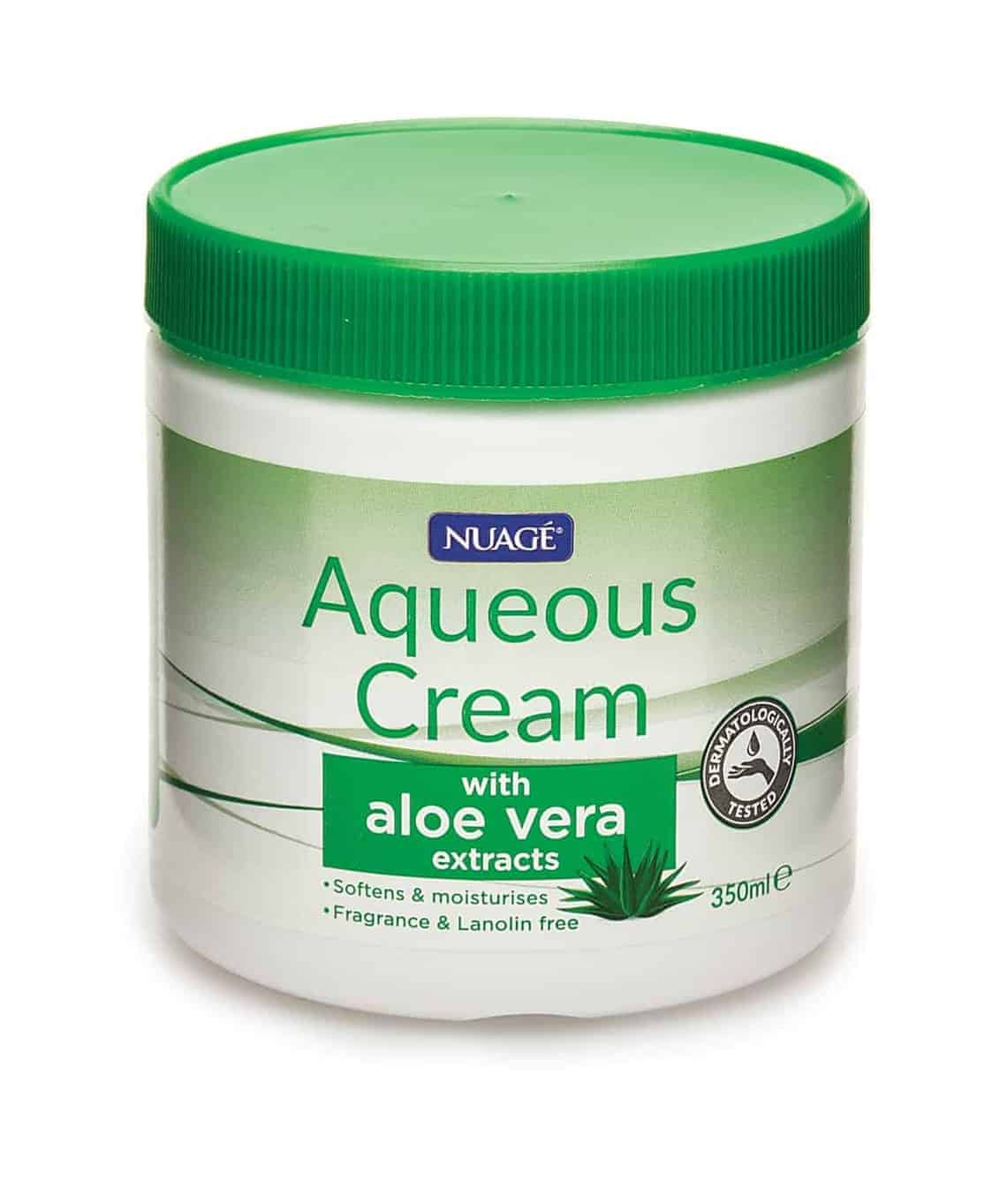 350Ml Aqueous Cream-Aloe Vera