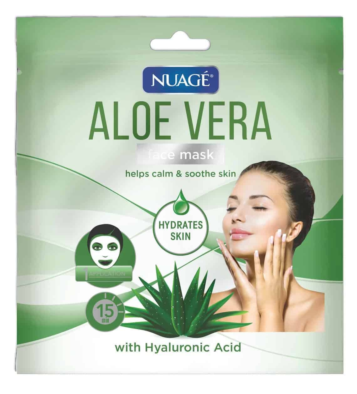 Nuage Aloe Vera & Hyaluronic Acid Face Mask