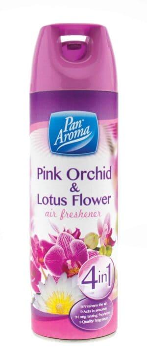 Pan Aroma  400Ml Pink Orchid Lotus Airfreshner