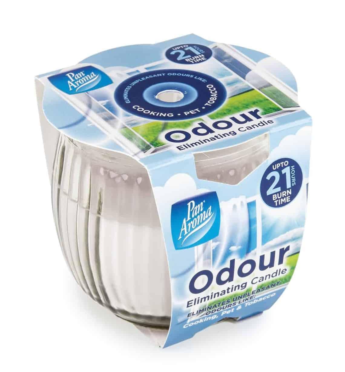 Pan Aroma Odour Eliminating Pot Candle