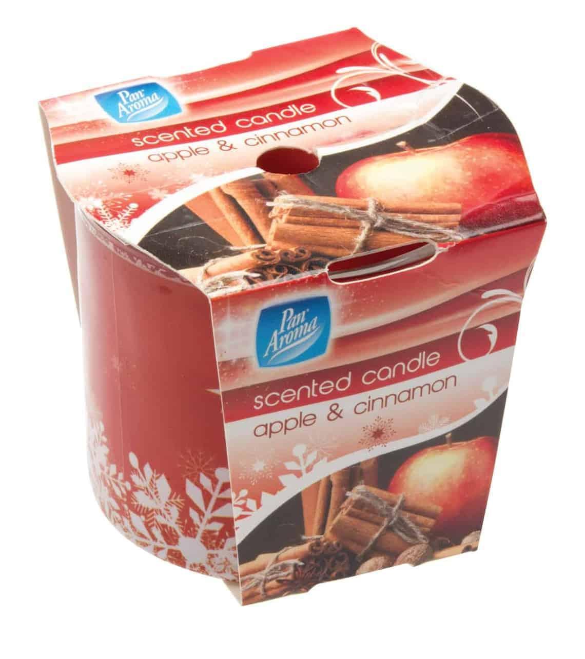 Pan Aroma Apple Cinnamon Candle