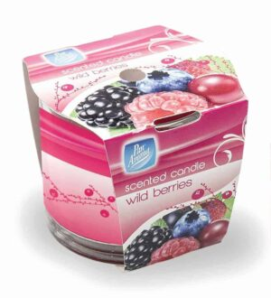 Pan Aroma Wild Berries Straight Edge Sleeve Wrap Candle