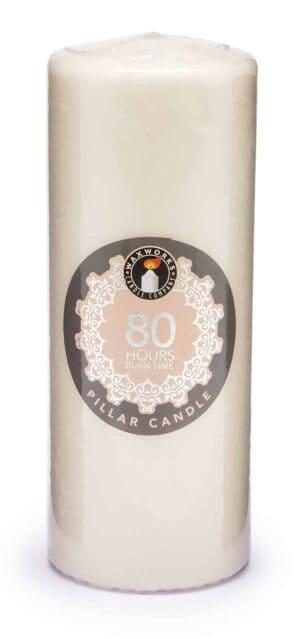 Pan Aroma  Pillar Candle-80Hr