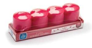 Pan Aroma Wild Berries Set Of 4 Votive Candles