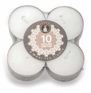 Pan Aroma Tea-Light Candles - Pack Of 4 Maxi