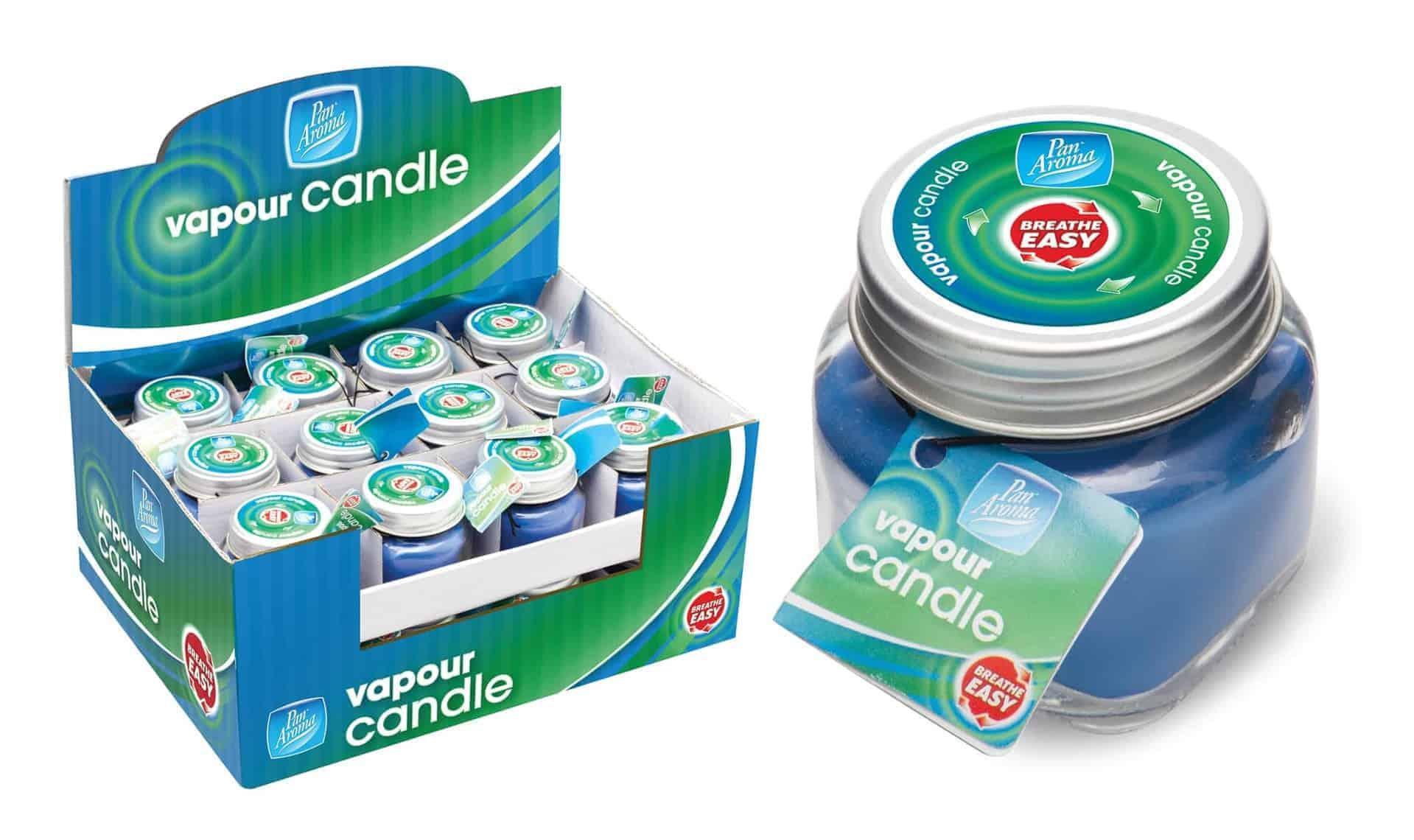 Pan Aroma Mini Jar Vapourising Candle