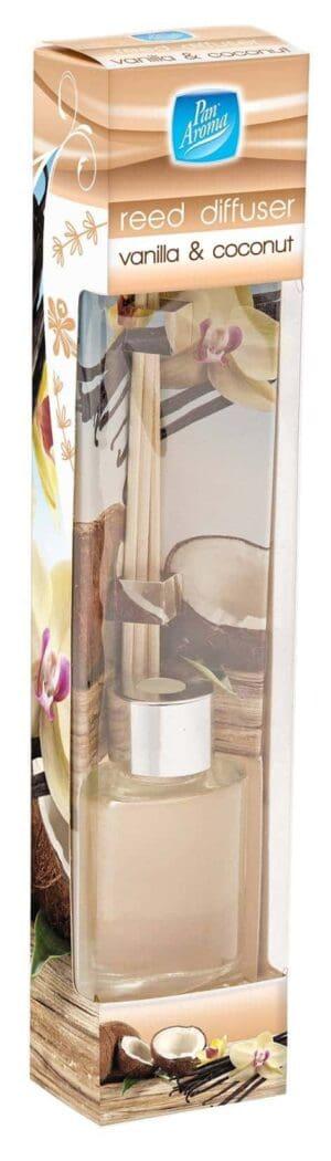 Pan Aroma Vanilla And Coconut Reed Diffuser 30Ml