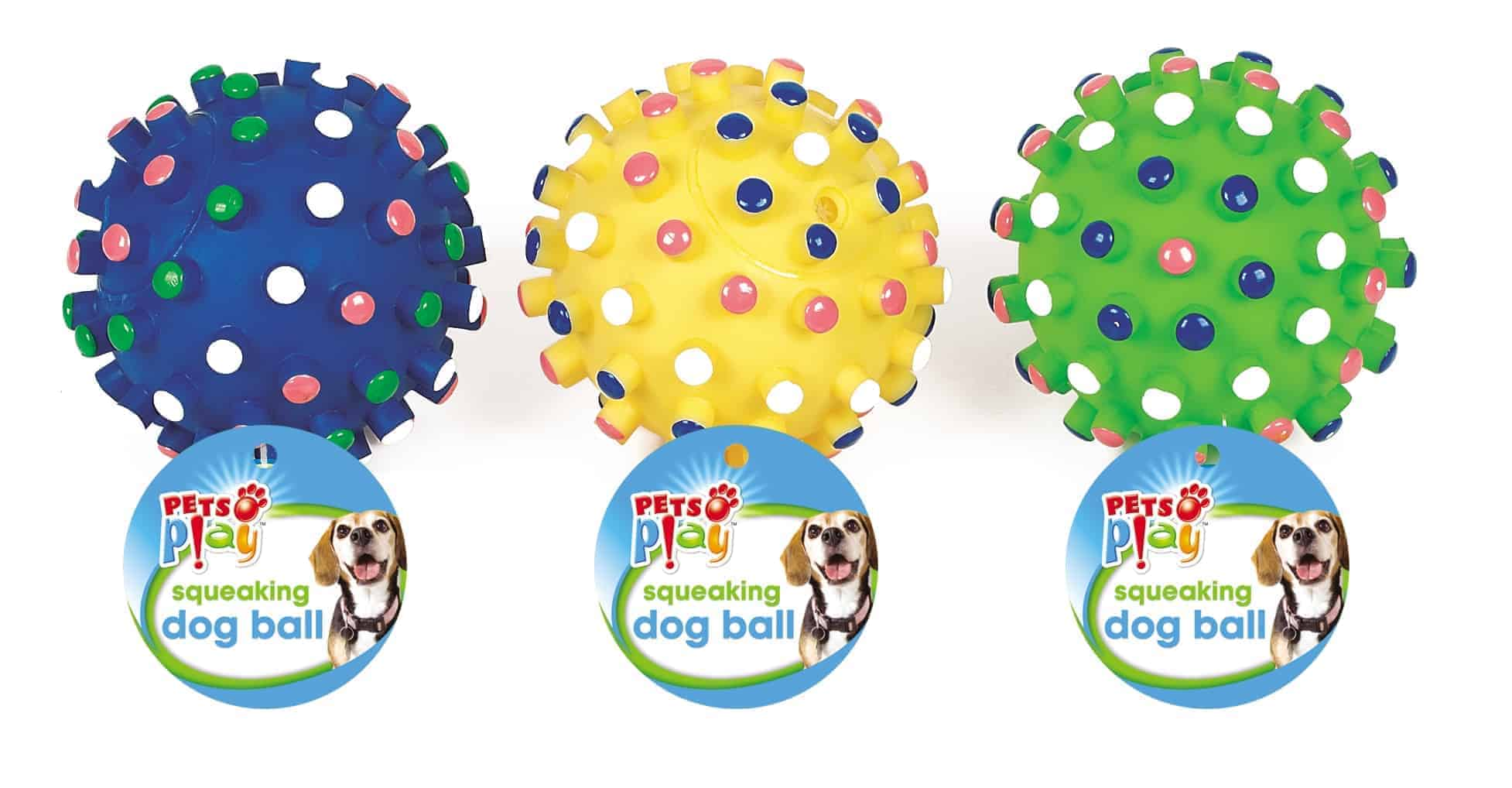 Pets At Play Dog Squeezy Ball