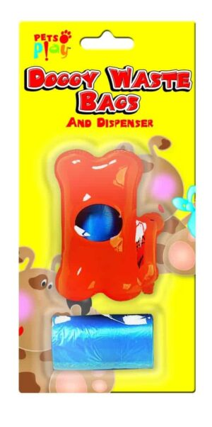 Pets at Play Dog Waste Bag with Dispenser