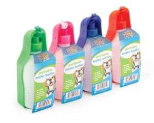 Pets At Play Portable Dog Drinking Bottle 300Ml Assorted