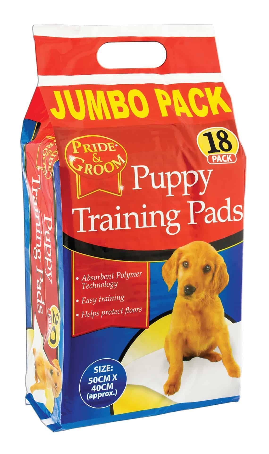 Pride & Groom Puppy Training Packs