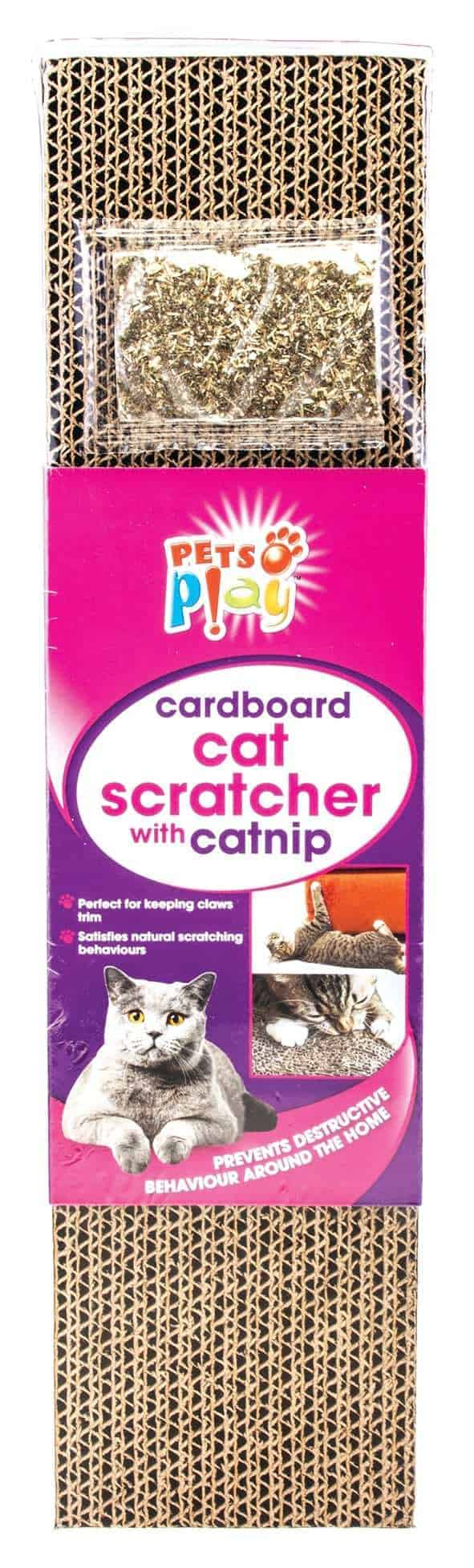 Pets At Play Cat Scratcher With Cat Nip