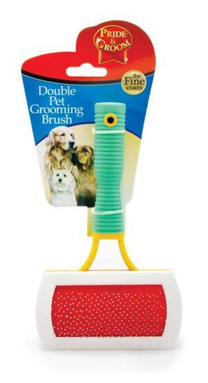 Pride and Groom Square Pet Groom Brush
