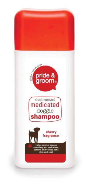 Pride and Groom Medicated Pet Shampoo-300Ml
