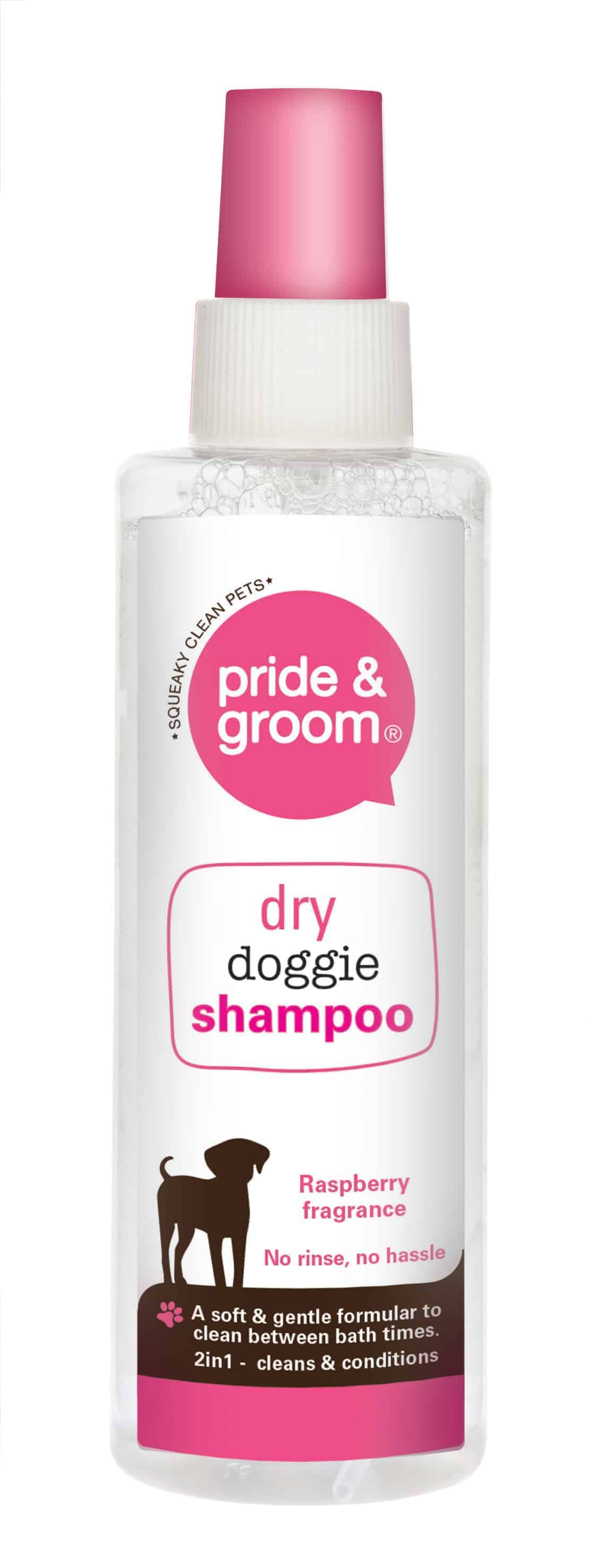 Pride and Groom Dry Dog Shampoo