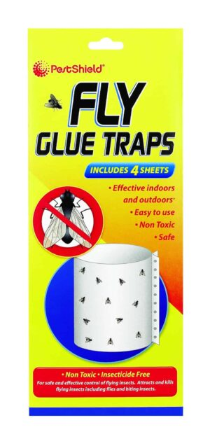 PestShield Fly Glue Traps 4 Pack