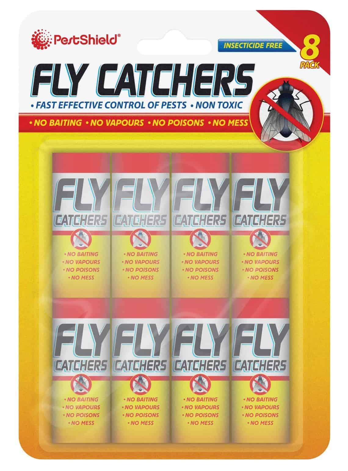 PestShield Fly Catchers-10Pk