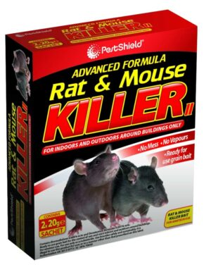 PestShield Rat/Mouse Killer-2 X 20G