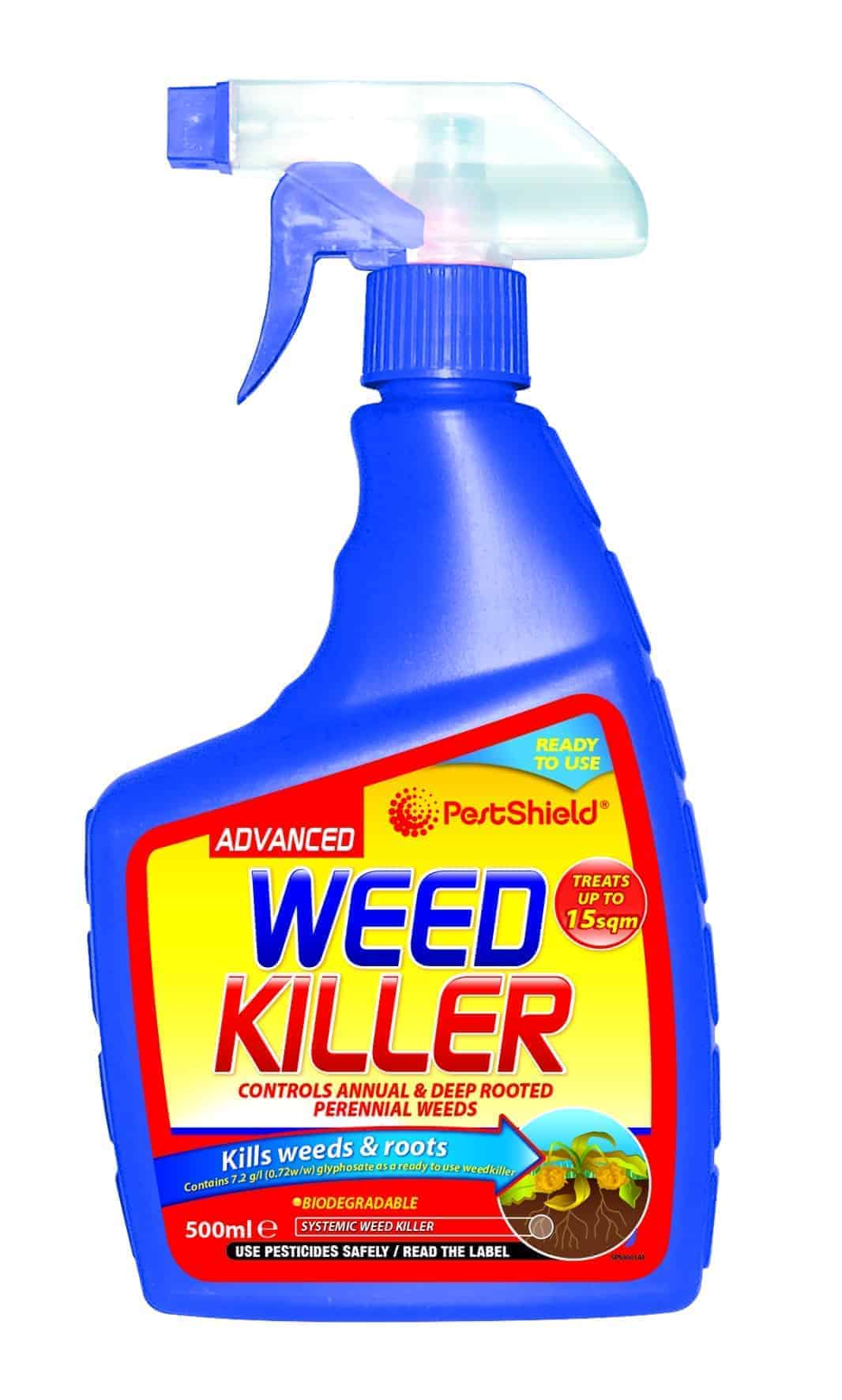 PestShield Weed Killer Spray- 500Ml