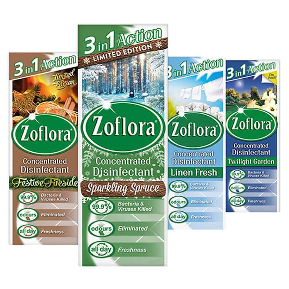 120Ml Zoflora Disinfectant-Ass