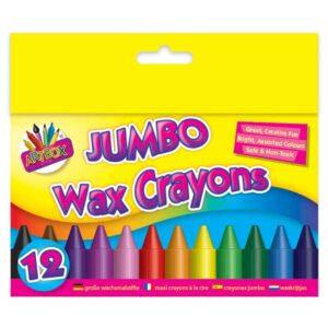 12Pc Jumbo Crayons