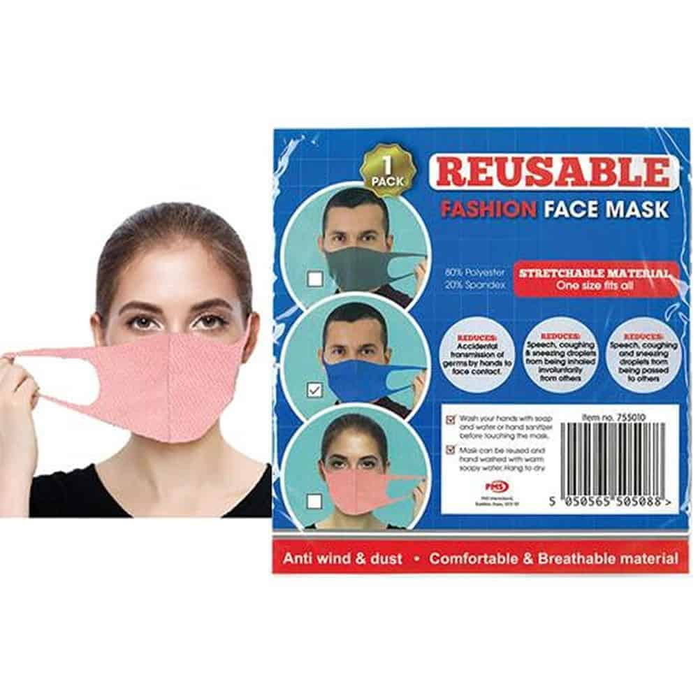 Reusasble Stretchable Spandex  Face Masks