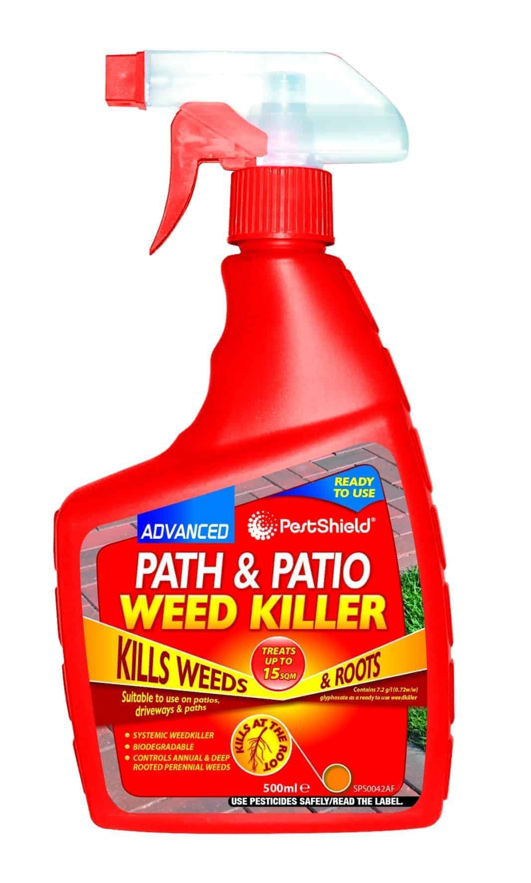 PestShield Path/Patio Weed Killer-500Ml